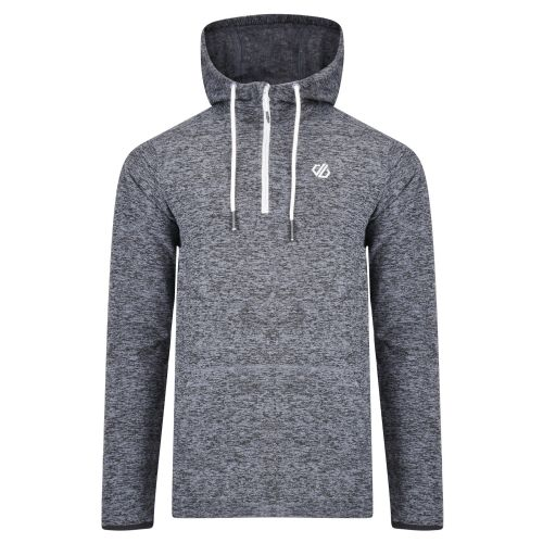 Dare2b Men's Ellevate Half Zip Hooded Fleece Gravity Grey